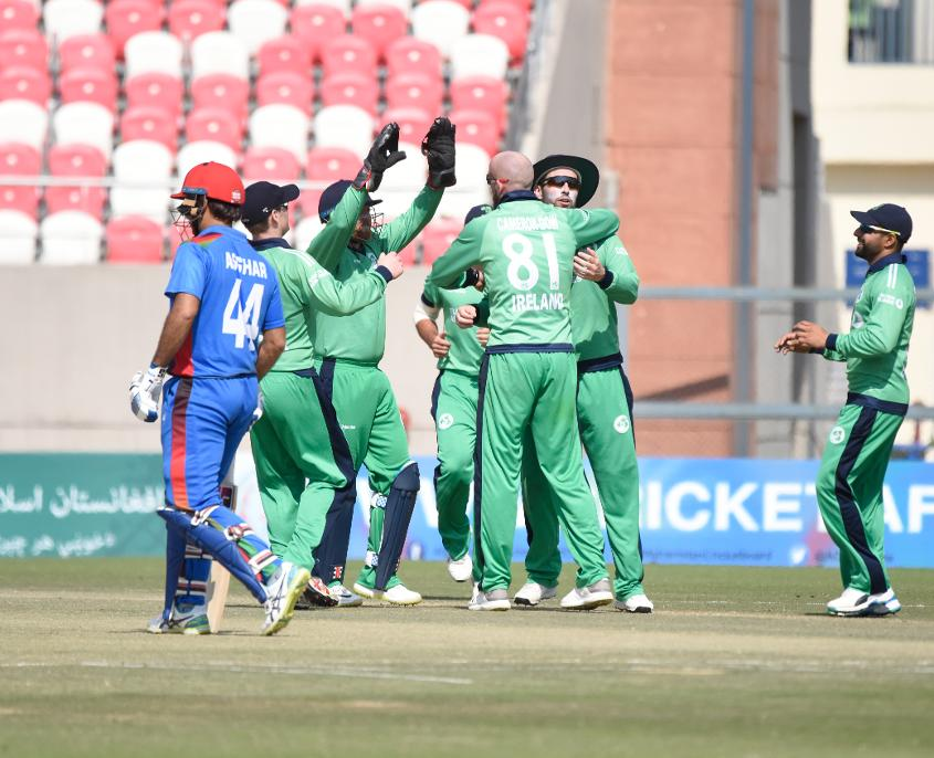 Ireland levelled the series 1-1