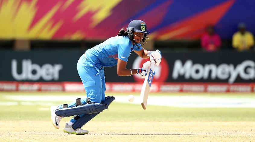 Harmanpreet Kaur's injury took her down a couple of places