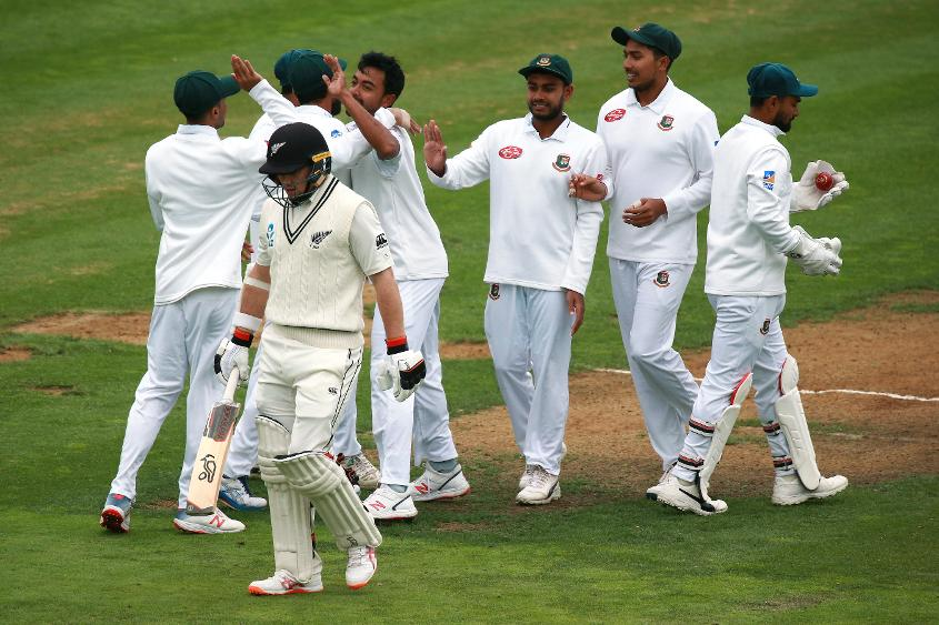Bangladesh had something to cheer about late in the day
