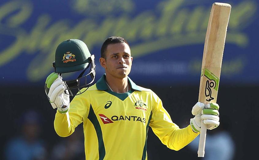 How will Usman Khawaja's recent, maiden ODI century affect Warner's path back to the side?