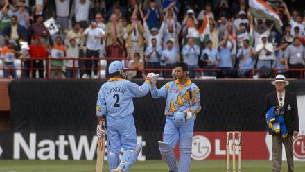 CWC Greatest Moments - Ganguly and Dravid go big v Sri Lanka in 1999