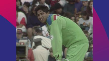 CWC Greatest Moments - Inzamam turns on the style in the 1992 semi-finals