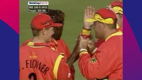 CWC Greatest Moments: Henry Olonga stuns India