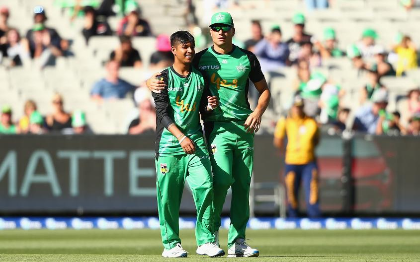 Sandeep Lamichhane also enjoyed a successful BBL season with the Melbourne Stars