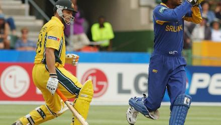 CWC Greatest Moments - Gilchrist walks against Sri Lanka in 2003