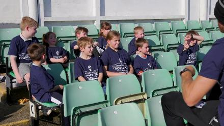 Local kids interview members of Worcestershire's squad!