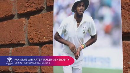 CWC Greatest Moments - Walsh decides against a final ball Mankad