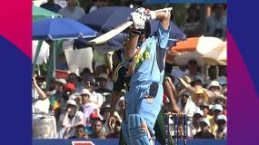 CWC Greatest Moments - Tendulkar tames Pakistan in 2003
