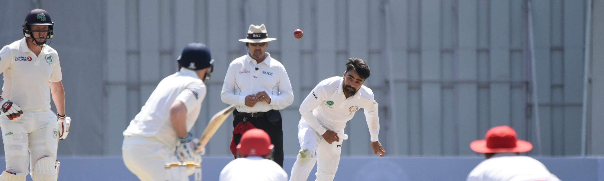 Afghanistan became just the fourth team to taste Test success in two games or lesser!