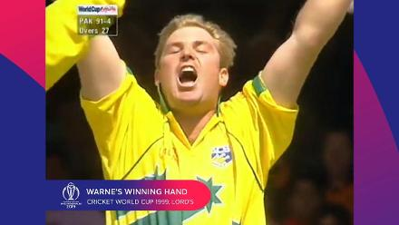 CWC Greatest Moments: Warne's winning hand in 1999 final