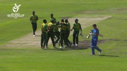 U19 CWC Africa Q: Namibia v Nigeria – Nigeria's winning moment