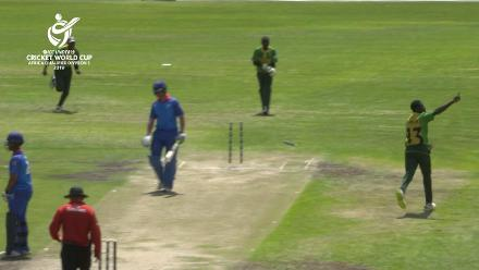 U19 CWC Africa Q: Namibia v Nigeria – Nigeria grab two early wickets