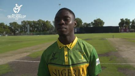 ICC U19 Cricket World Cup Africa Qualifier: Nam v Nga – Toss and Captain Interviews
