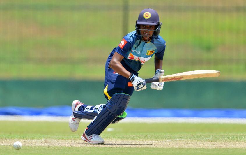 Madhavi top-scored for Sri Lanka