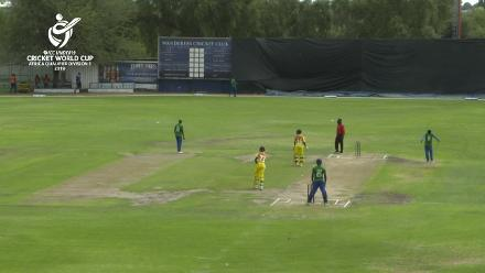 U19 CWC Africa Q: Uganda v Sierra Leone - Munir Ismail's 73 not out helps steady the ship for Uganda