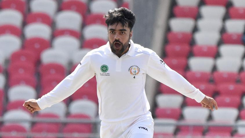 Rashid Khan's five-for on Day 3 set things up for Afghanistan