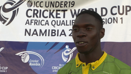 U19 CWC Africa Q: Namibia v Nigeria – Interview with Player of the Match Okpe Sylvester