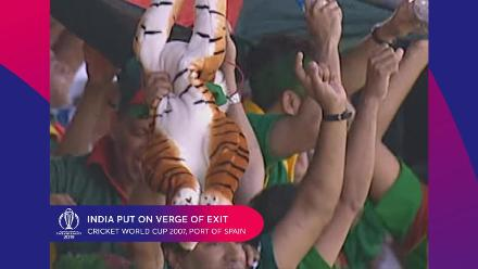 CWC Greatest Moments: Bangladesh complete massive upset over India in 2007