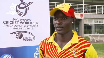 U19 CWC Africa Q: Uganda v Sierra Leone - Interview with Player of the Match Munir Ismail