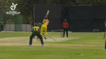 U19 CWC Africa Q: Uganda v Nigeria:  Action-packed start to Uganda's innings