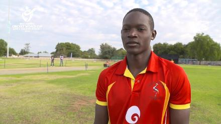 U19 CWC Africa Q: Uganda v Nigeria – Toss and captains interviews