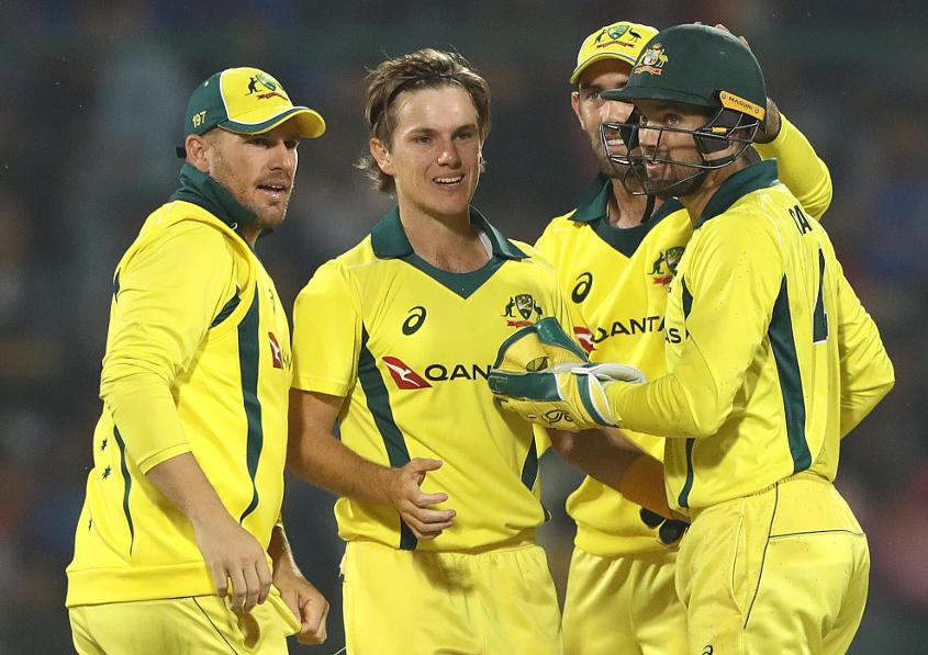 Zampa was one of the stars for Australia in their 3-2 ODI series triumph over India
