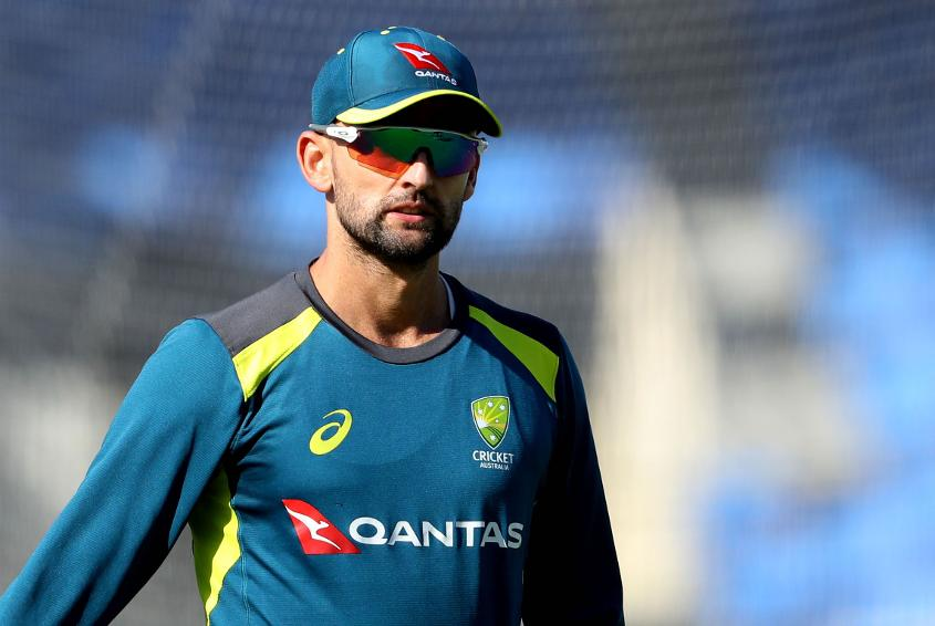 Nathan Lyon briefly went down with illness, but has since returned to the nets