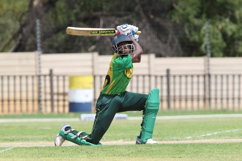 Samuel Mba top-scored for Nigeria with a 139-ball 54