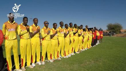 U19 CWC Africa Q: Namibia v Uganda - Highlights