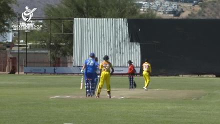 U19 CWC Africa Q: Namibia v Uganda: Henry Brink's 55 off 68 gives Namibia a good start