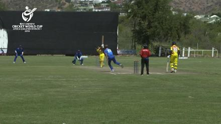 U19 CWC Africa Q: Namibia v Uganda: Zephania Arinaitwe gives Uganda a racing start with 30-ball 69