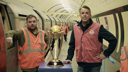 The Cricket World Cup goes underground!