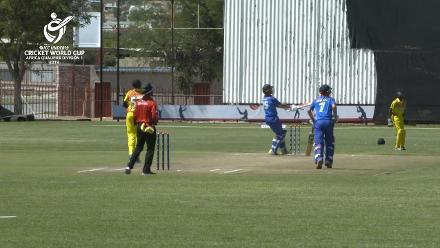 U19 CWC Africa Q: Namibia v Uganda: Divan La Cock top scores for Namibia with 91 off 97 balls