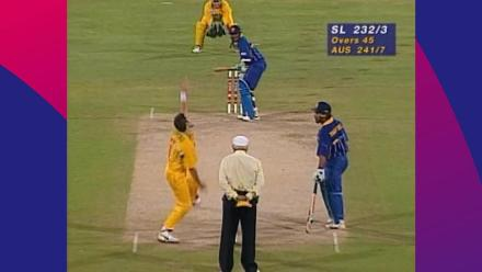 CWC Greatest Moments: Aravinda de Silva leads Sri Lanka to glory in 1996