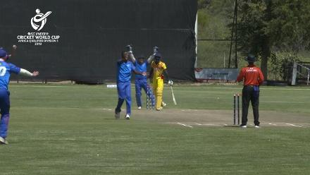 U19 CWC Africa Q: Namibia v Uganda: Beukes and Ngupita reduce Uganda from 75/1 to 85/5