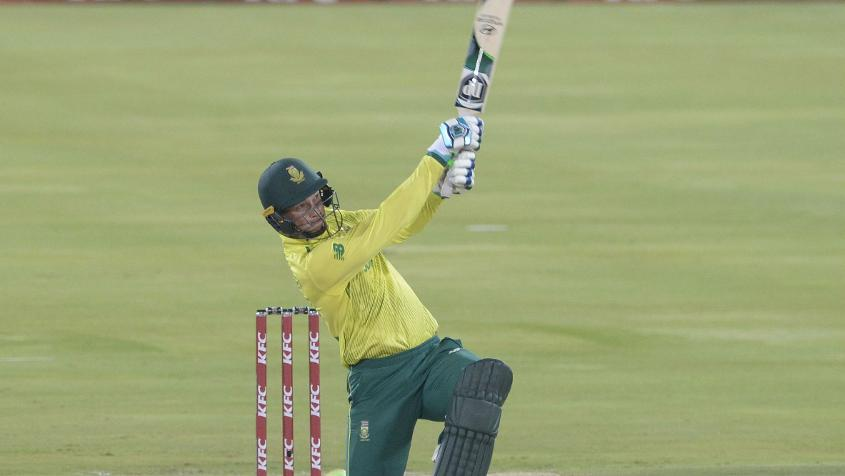 Rassie van der Dussen has been quite consistent right since the start of the ODI series
