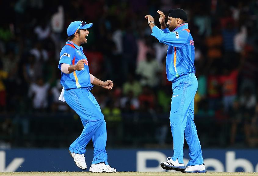 Harbhajan finished with figures of 3/20 from his four overs