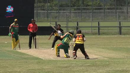 ICC Men's T20WC EAP Regional Final: PNG v Vanuatu – Match highlights
