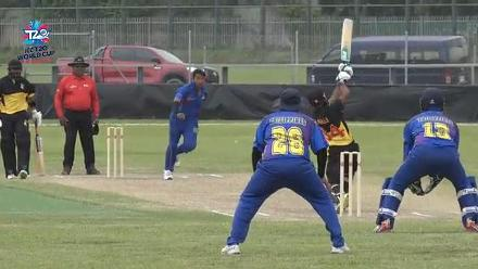 ICC Men's T20WC EAP Regional Final: PNG v Philippines – Match highlights