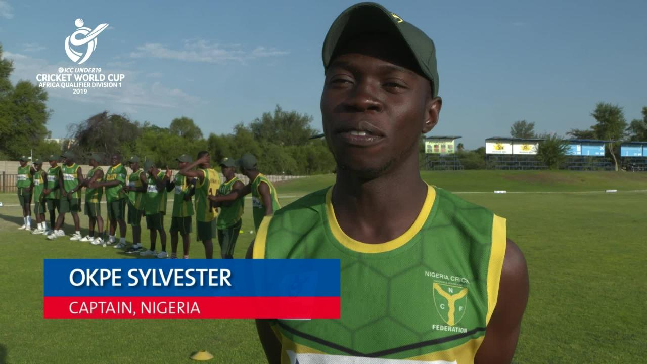 a12dc46a492 U19 CWC Africa Q  Sierra Leone v Nigeria – Toss and captain interviews