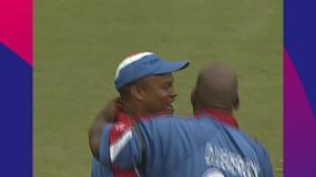 CWC Greatest Moments: Leverock's leap uproots Uthappa for Bermuda v India