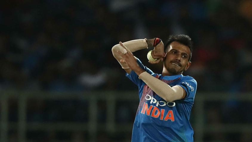 Yuzvendra Chahal gave six steps to her four corners and received a wicket