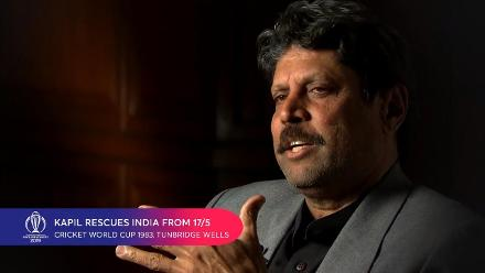 CWC Greatest Moments: Kapil Dev's 175* rescues India from 17/5 v Zimbabwe in 1983