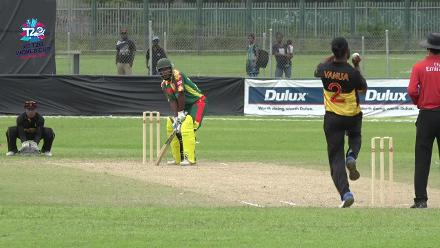 ICC Men's T20WC EAP Regional Final: Papua New Guinea v Vanuatu – Match 6 highlights