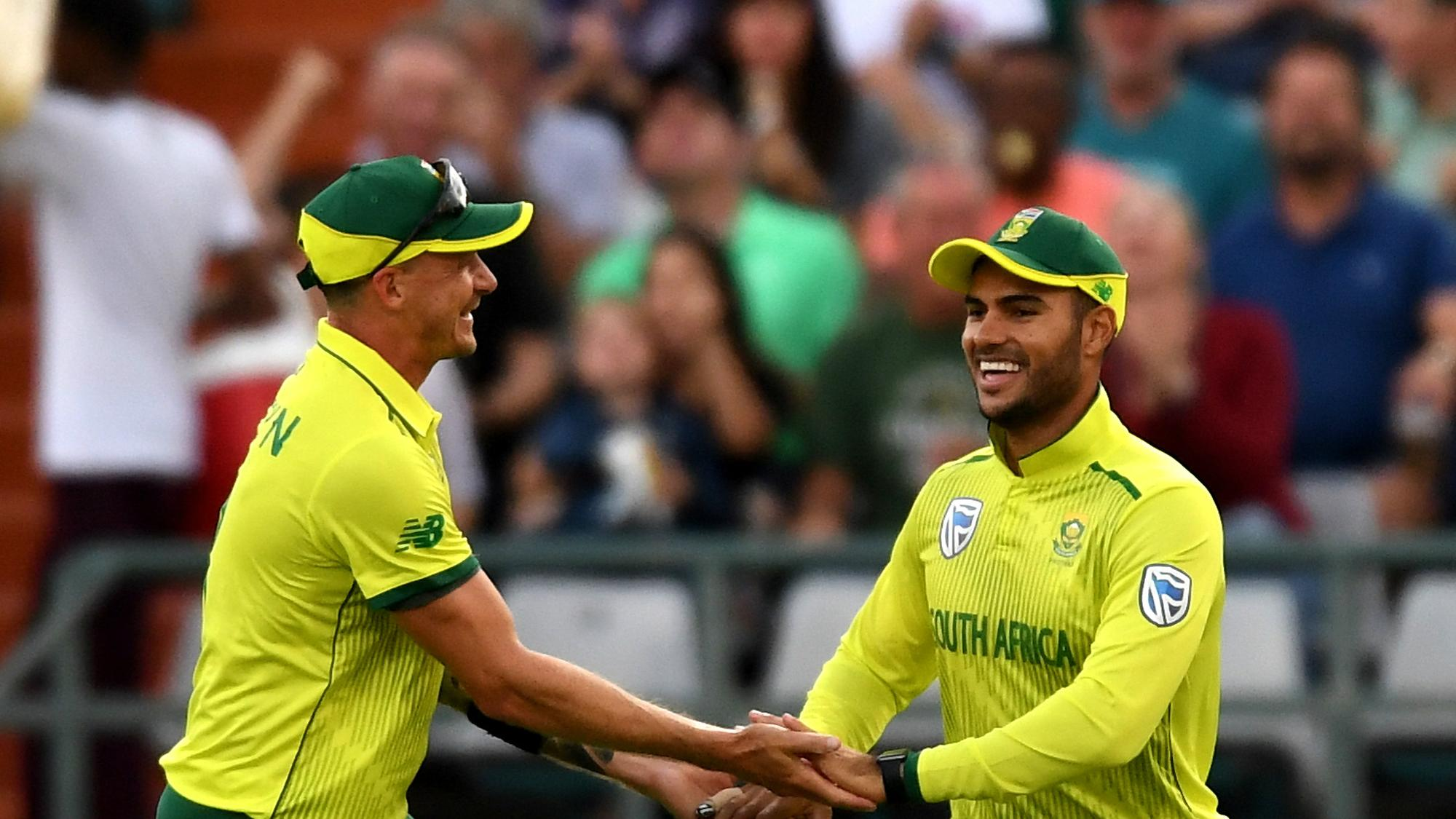 Hendricks, Phehlukwayo achieve career-best T20I rankings