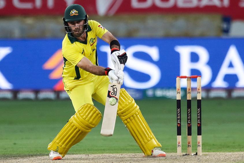 Glenn Maxwell's inventive innings gave Australia the ascendancy
