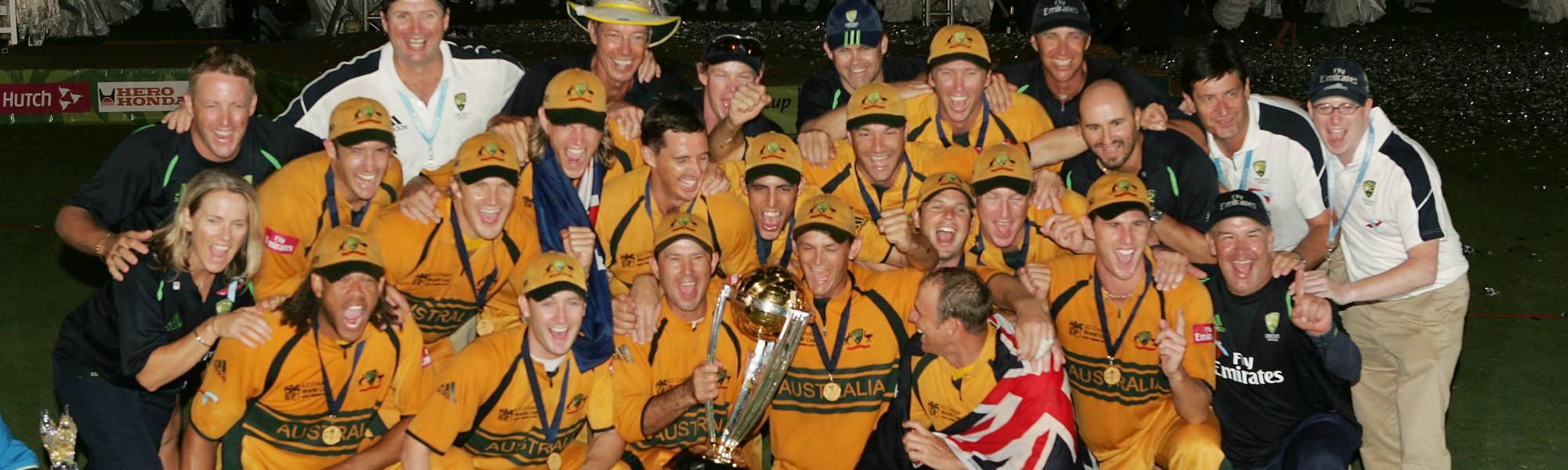 Men S Cricket World Cup 2007 Overview